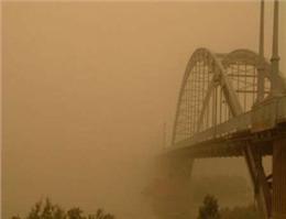 مناطق ساحلی خوزستان دوباره غبارآلود می شود