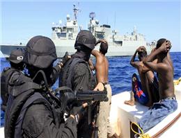 دزدی های دریایی در آسیا کاهش یافت