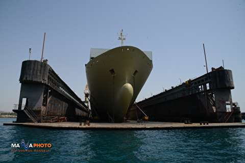 Narrated Illustration of Ship Repair at Persia Hormoz Ship Repair Yard