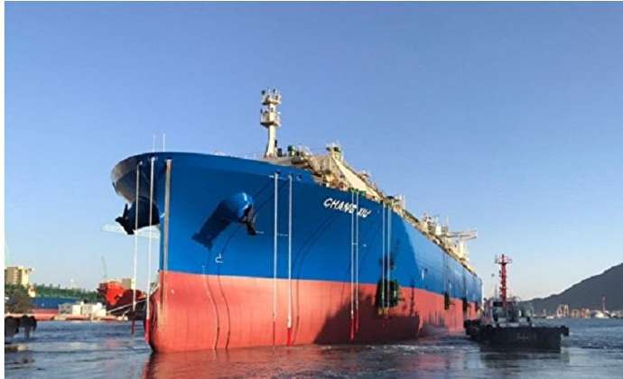 World's largest ethane carrier makes maiden call at US terminal